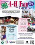 4-H Fair and Carnival 2014 flyer FINAL