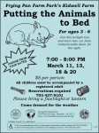 Animals to Bed Spring 2014