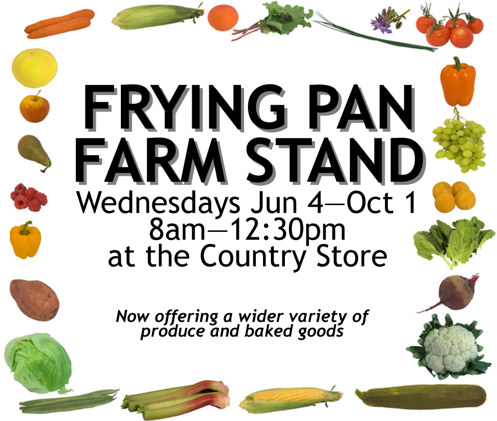 Farm Stand Announcement