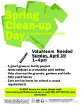 Spring Clean-up day 2015