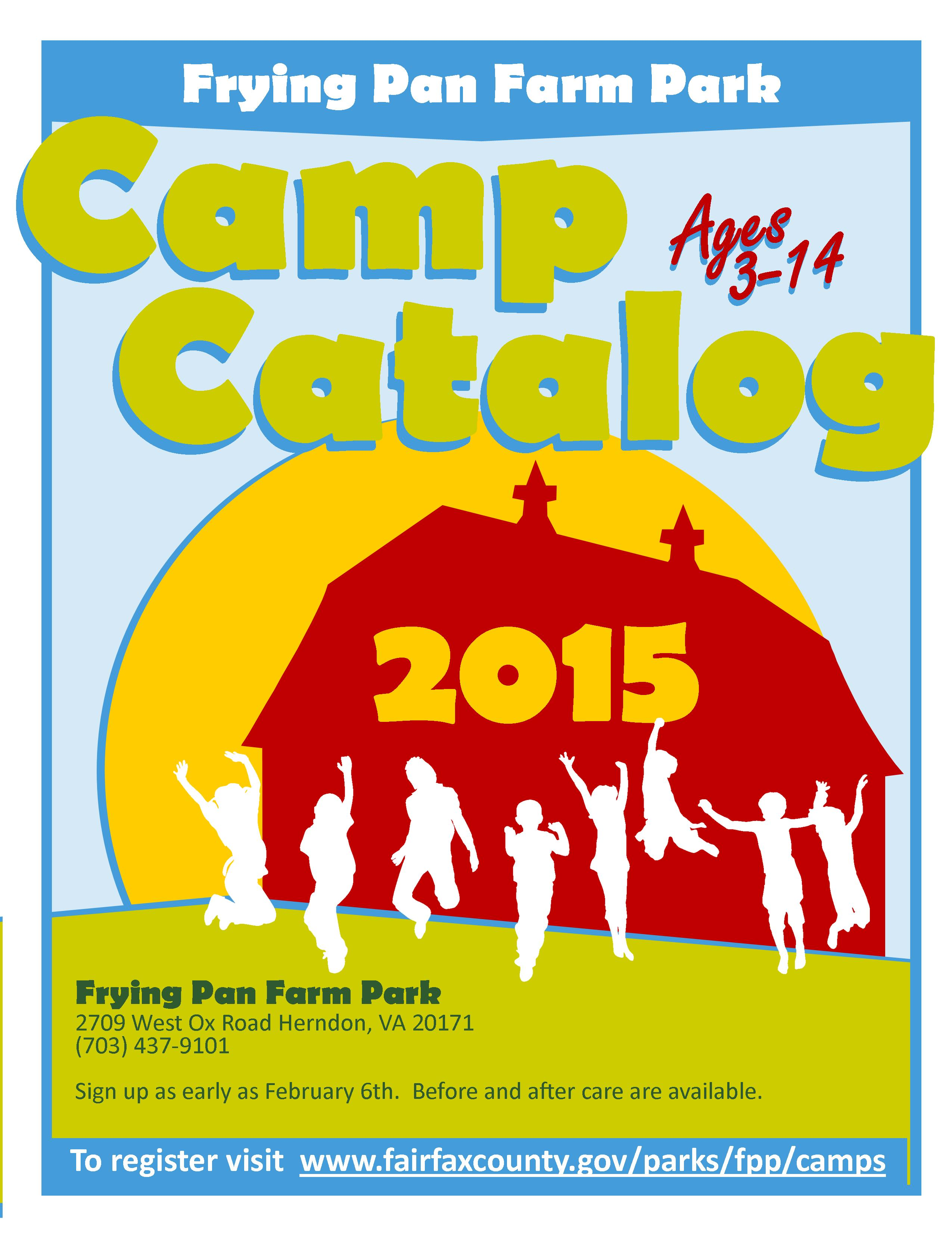 Summer Camps 8.5x11 Booklet